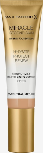 MAX FACTOR Foundation 'Miracle Second Skin' in beige, Produktansicht