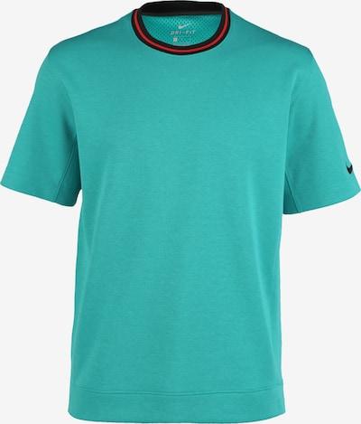 NIKE T-Shirt 'Hoop Fly' in kobaltblau / jade / rot, Produktansicht