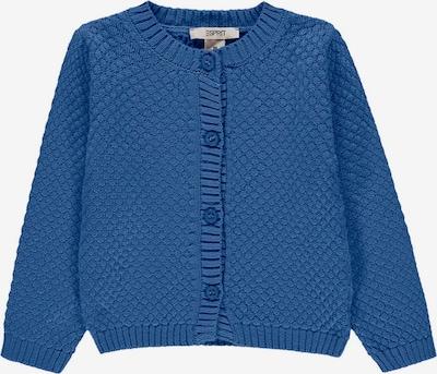 ESPRIT Gebreid vest in de kleur Royal blue/koningsblauw, Productweergave