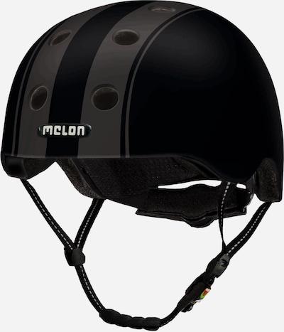 Melon Helm 'Decent Double' in schwarz, Produktansicht