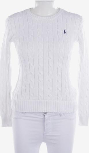 POLO RALPH LAUREN Pullover / Strickjacke in XS in weiß, Produktansicht