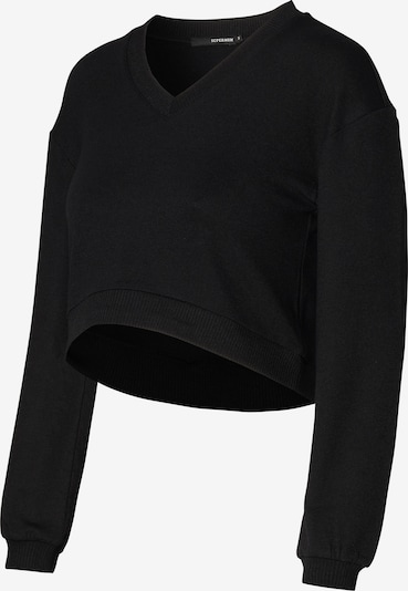 Supermom Sweater ' Cropped ' in Black, Item view