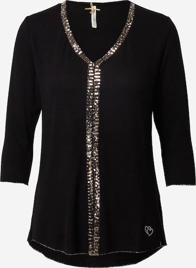 Key Largo Shirt 'SHOW' in schwarz / silber, Produktansicht