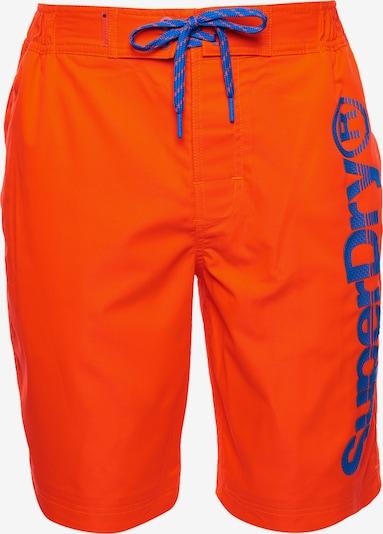 Superdry Zwemshorts in de kleur Sinaasappel, Productweergave