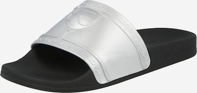 Saboți 'KONDO' Karl Lagerfeld pe negru / argintiu, Vizualizare produs