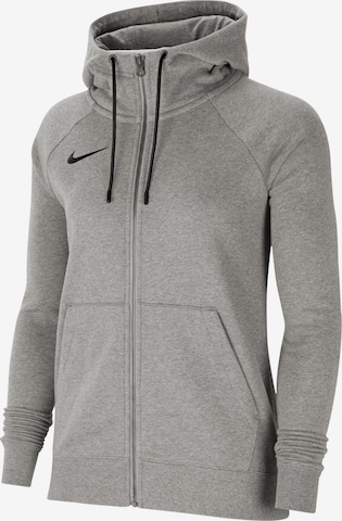 NIKE Athletic Jacket in Grey