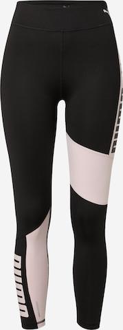 juoda PUMA Sportinės kelnės 'Favourite'