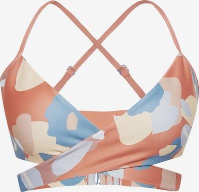 Boochen Bikinitop 'Arpoador' in mischfarben / pastellorange, Produktansicht