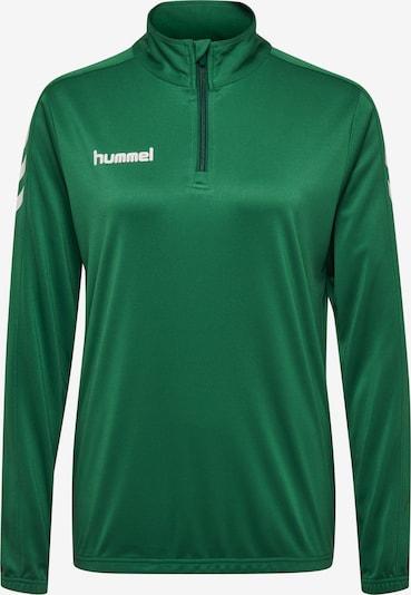 Hummel Sweatshirt in tanne / weiß, Produktansicht