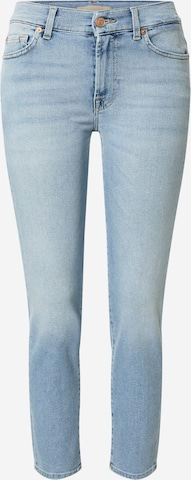 7 for all mankind Jeans 'ROXANNE' in Blau