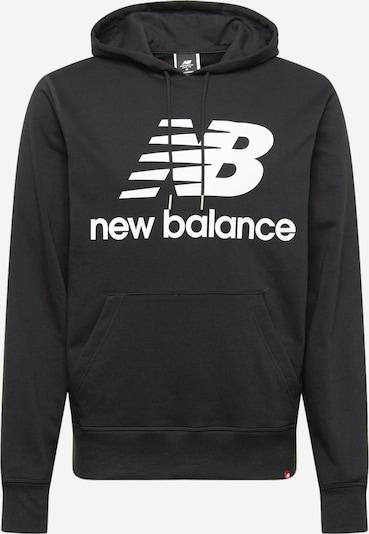 new balance Μπλούζα φούτερ σε μαύρο / λευκό, Άποψη προϊόντος