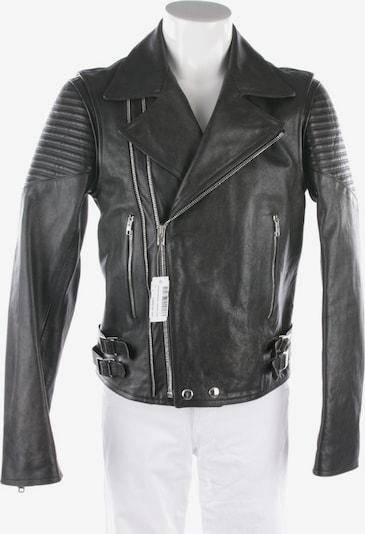 Givenchy Lederjacke in M-L in schwarz, Produktansicht