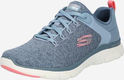 Sneaker low SKECHERS pe albastru fumuriu / corai, Vizualizare produs