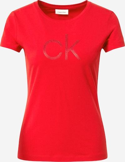 Calvin Klein Shirt 'DIAMANTE' in rot, Produktansicht