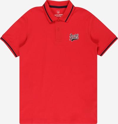 Jack & Jones Junior T-Shirt en rouge / noir / blanc, Vue avec produit