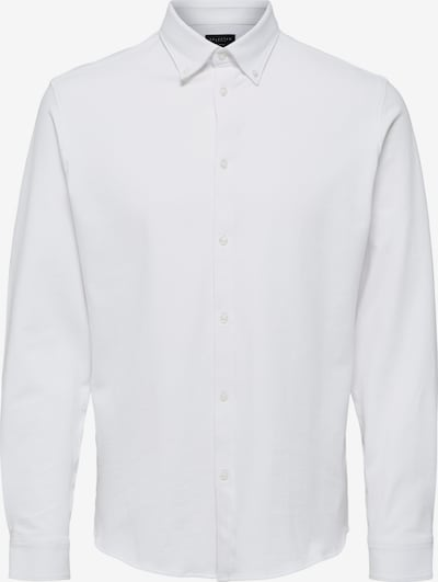 SELECTED HOMME Hemd in weiß, Produktansicht