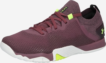 UNDER ARMOUR Athletic Shoes 'TriBase Reign 3' in Purple