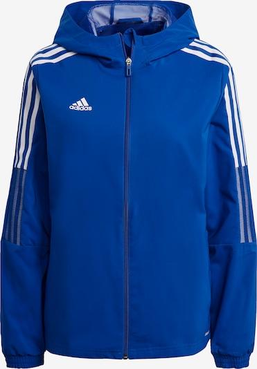 ADIDAS PERFORMANCE Sportjacke 'Tiro 21' in blau / weiß, Produktansicht