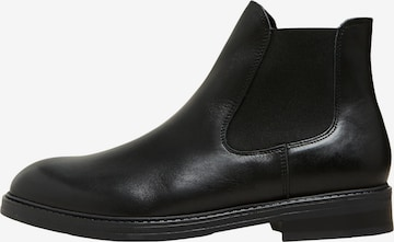 SELECTED HOMME Chelsea Boots 'Blake' in Schwarz