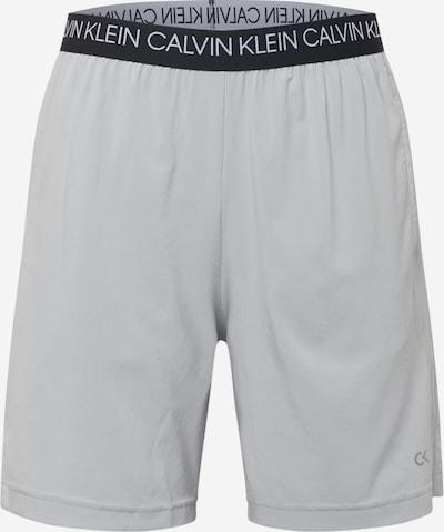 Calvin Klein Performance Sportbroek 'WO - 7' in de kleur Grijs / Zwart, Productweergave