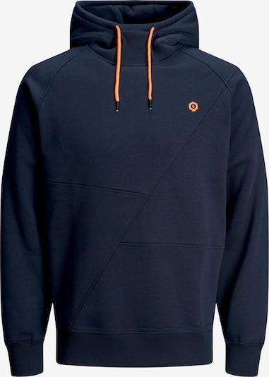 JACK & JONES Mikina 'JCOPINN' - námořnická modř / tmavě oranžová, Produkt