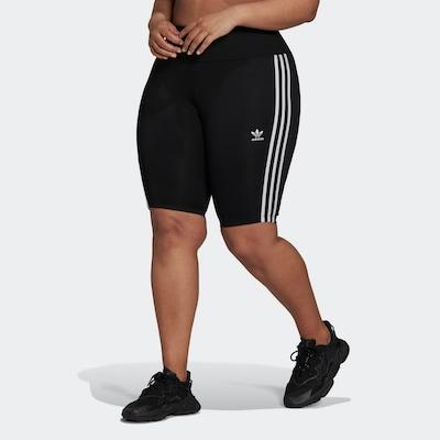 ADIDAS ORIGINALS Legíny 'Adicolor' - čierna / biela, Model/-ka