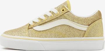 VANS Sneaker in Gold
