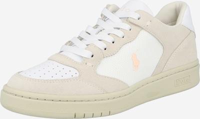 POLO RALPH LAUREN Sneaker low i lysebeige / hvid, Produktvisning