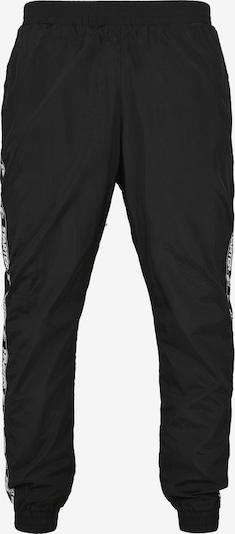 Starter Black Label Broek in de kleur Zwart / Wit, Productweergave