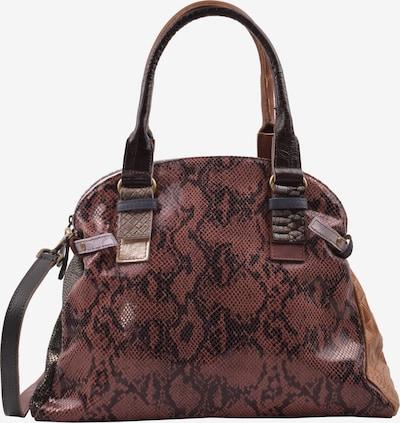 ebarrito Handtasche 'ROMA BAG' in braun / schwarz, Produktansicht