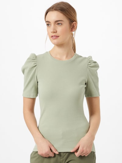 PIECES Shirt 'Anna' in pastel green, View model