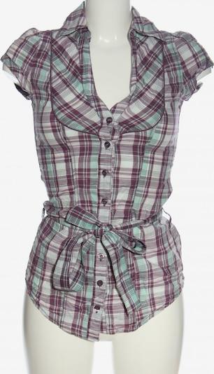 Fresh Made Kurzarmhemd in XS in türkis / pink / weiß, Produktansicht