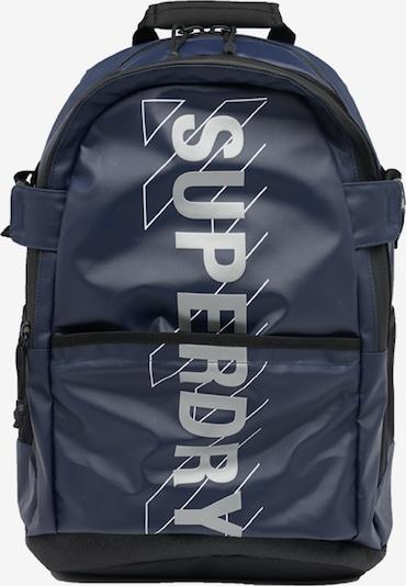 Superdry Sportrugzak in de kleur Marine / Grijs / Zwart / Wit, Productweergave