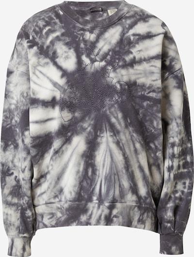 LEVI'S Sweatshirt in dunkelgrau / weiß, Produktansicht