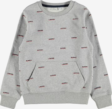 NAME IT Sweatshirt in Grey