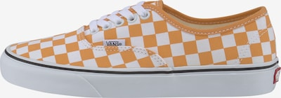 VANS Baskets basses 'Authentic' en mandarine / blanc naturel, Vue avec produit