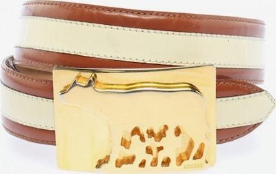 MOSCHINO Belt in XS-XL in Cream / Brown, Item view