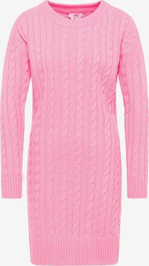 MYMO Strickkleid in pink, Produktansicht
