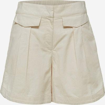 Pantaloni 'Cecilie' SELECTED FEMME pe nisipiu, Vizualizare produs