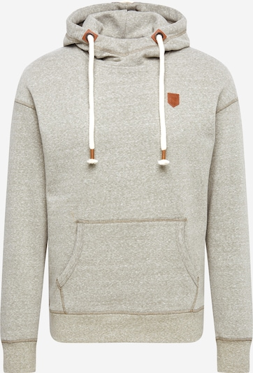 JACK & JONES Sweatshirt 'BLUGORDON' in braun / oliv, Produktansicht