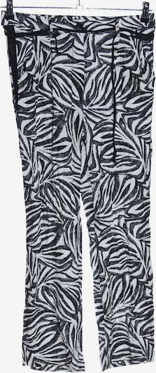MORE & MORE Haremshose in S in schwarz / weiß, Produktansicht
