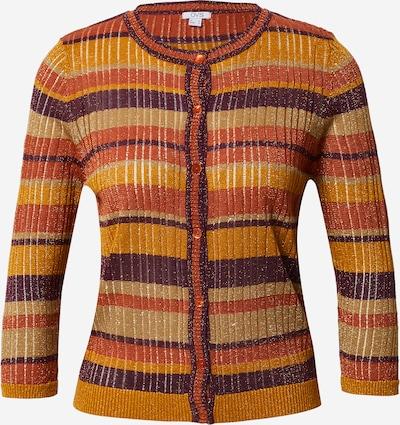 OVS Pletena jopa 'A-JOUR' | rjava / svetlo oranžna / temno oranžna / temno rdeča barva, Prikaz izdelka