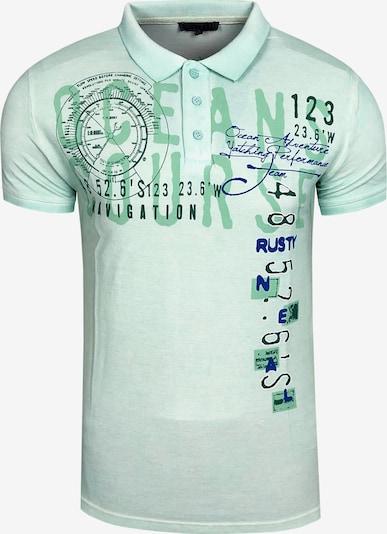 Rusty Neal Polo-Shirt in mint, Produktansicht