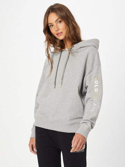 BOSS Casual Sweatshirt 'Eustice' in Silver grey: Frontal view
