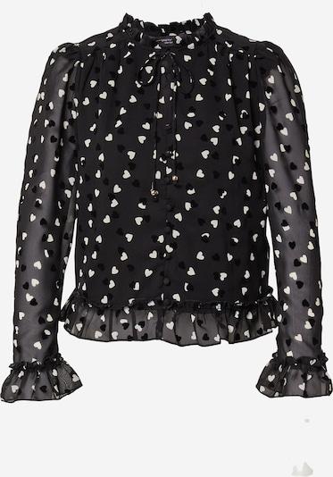 Dorothy Perkins Blouse in de kleur Zwart / Wit, Productweergave