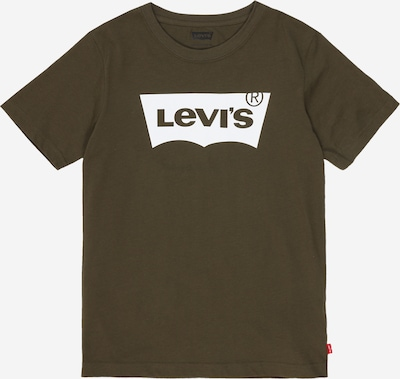 LEVI'S Shirt 'Batwing' in oliv: Frontalansicht