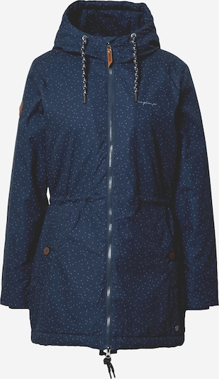 mazine Winterparka 'Library' in de kleur Navy, Productweergave