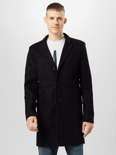 Only & Sons Between-seasons coat 'JULIAN' in black, View model