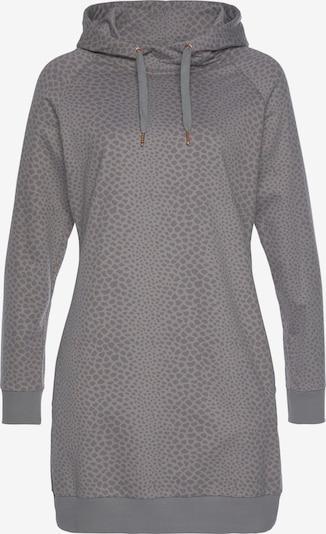LASCANA Kleid in taupe / graphit, Produktansicht