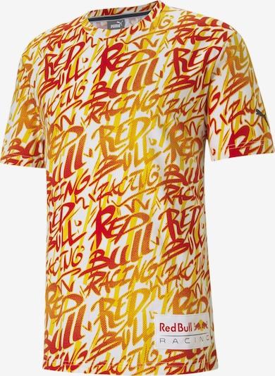 PUMA Funktionsshirt 'Red Bull Racing' in gelb / rot / weiß, Produktansicht
